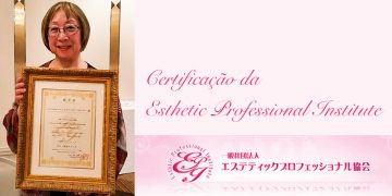 Certificado da Esthetic Professional Institute